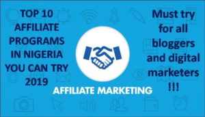 Best Affiliate Programs in Nigeria for Bloggers