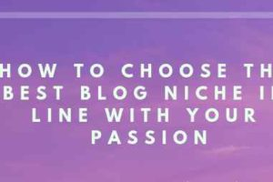 Choosing a Blogging Niche for Beginners