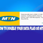 How To Double Your MTN Data